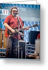 Jerry Garcia 1986 Greeting Card