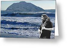 Jerry Garcia At Mt Tamalpaisland 2 Greeting Card