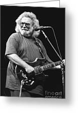 Jerry Garcia Band Greeting Card