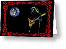 Jerry In Space Greeting Card
