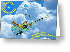 Jerry In The Sky With Love Greeting Card