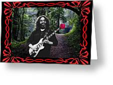 Jerry Road Rose 2 Greeting Card