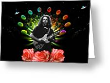 Jerry Spacepods Ufo Roses 1 Greeting Card