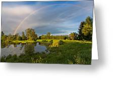Jerry Sulina Park Rainbow Greeting Card