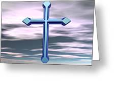 Jerrys Cross  Greeting Card