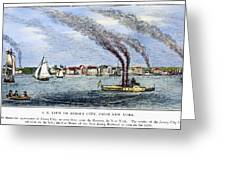 Jersey City, 1844 Greeting Card