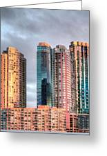 Jersey City Color Greeting Card