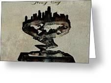 Jersey City Skyline Greeting Card