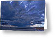 Jersey Downpour Greeting Card