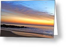 Jersey Shore Sunrise Greeting Card