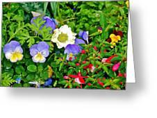Jerusalem Garden No 2 Greeting Card