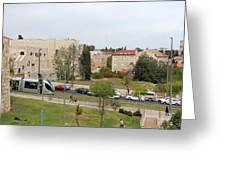 Jerusalem Near New Gate Greeting Card