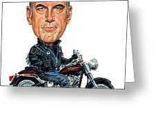 Jesse Ventura Greeting Card by Art