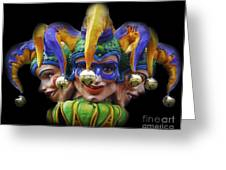 Jesters Greeting Card