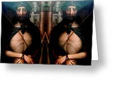 Jesus At The Met Greeting Card