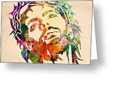 Jesus Christ 3 Greeting Card