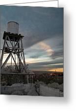 Jesus Saves Watertower - Route 66 Greeting Card