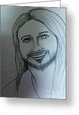Jesus Sweet Smile Greeting Card