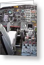 Jet Cockpit Greeting Card