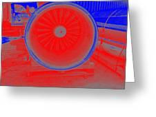 Jet Engine 3 Greeting Card
