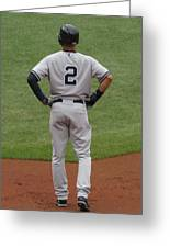 Jeter 2 Greeting Card