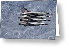 Jetsvangogh Greeting Card