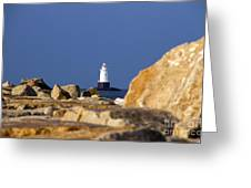 Jetty View Sakonnet Pt. Light II Greeting Card