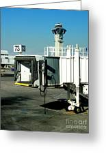 Jetway Greeting Card
