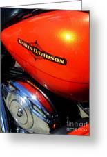 Jewel Of Bikes Motorcycles Greeting Card