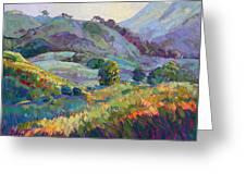 Jeweled Hills Greeting Card