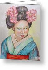 Jewelof The Orient Greeting Card