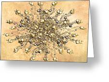 Jewels In The Sand Greeting Card