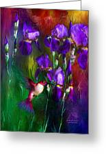 Jewels Of Summer Greeting Card