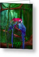 Jewels Of The Jungle Greeting Card