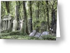 Jewish Cemetery Weissensee Berlin Greeting Card