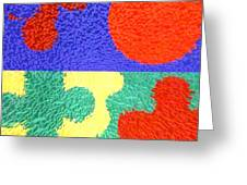 Jigsaw Pieces Greeting Card