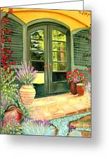 Jill's Patio Greeting Card