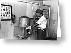 Jim Crow Laws, 1939 Greeting Card