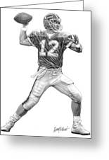 Jim Kelly Greeting Card by Harry West