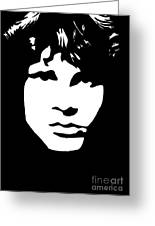 Jim Morrison  Greeting Card