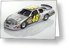 Jimmie Johnson No 48 Greeting Card