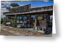 Jim's Junction Storefront Greeting Card