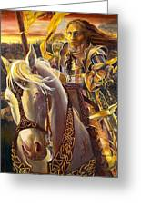 Joan D'arc Greeting Card