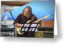 Jocelyn Godfrey Guitarist 1 Greeting Card