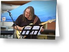 Jocelyn Godfrey Guitarist 2 Greeting Card