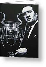 Jock Stein - Celtic Fc Greeting Card
