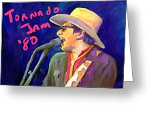Joe Ely Greeting Card by GCannon