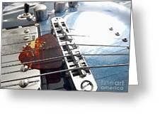Joe's Guitar Greeting Card