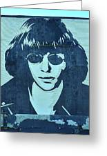 Joey Ramone Greeting Card