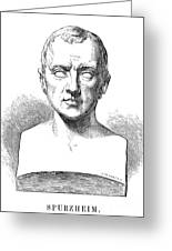 Johann Kaspar Spurzheim Greeting Card